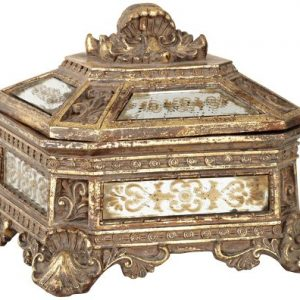 Florentine-Antique-Gold-Mirrored-Jewelry-Box-0